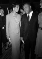 Lena Horne and Dr. Martin Luther King, Jr.