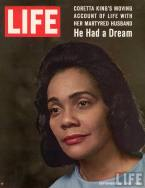 Coretta Scott King via Life Magazine