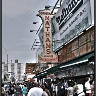 Nathan's at Coney Island