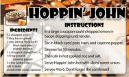 Hoppin John Instructions