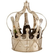 Queens English Champagne Bucket via Interior Illusions