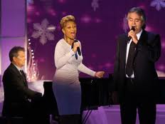 Mary J. Blige and Andrea Bocelli