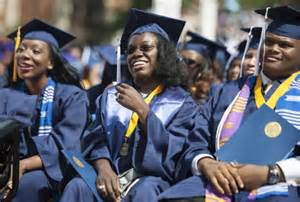 Britney Wilson at Howard University graduation, washingtonpost.com