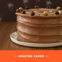 Milk Chocolate Layer Cake - Bakednyc.com