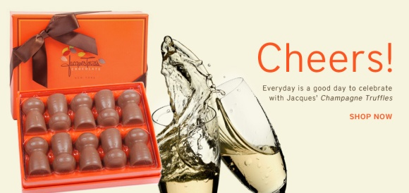 Champagne Truffles, Jacques Torres - mrchocolate.com