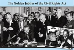 Commemorative Poster of the Civil Rights Act - www.pittcc.edu
