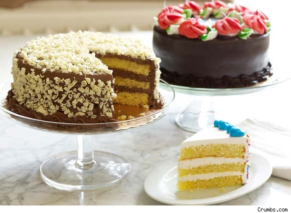 Assorted layer cakes - Crumbs.com