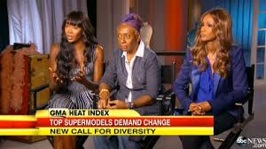 Naomi Campbell, Bethann Hardison, Iman on GMA via ABC News