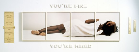Lorna Simpson - You're Fine 1988