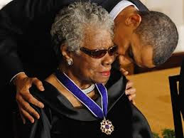 President Obama and Dr. Maya Angelou - Breibart.com
