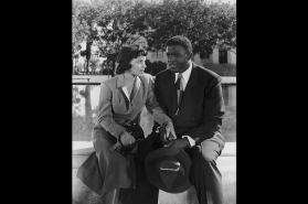 Ruby Dee in the Jackie Robinson Story - Getty Images