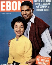 On the cover of Ebony Feb. 1961