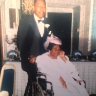 My father (Herbert) & grandmother (Margaret)