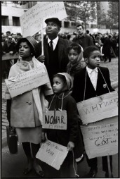 Ruby, Ossie and Children Protest the War - 1966 Bruce Davidson