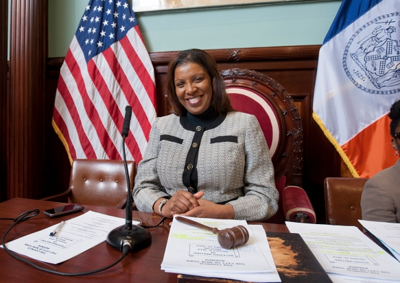 At a New York City Council Meeting - Observer.com