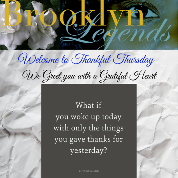 Thankful Thursday - Blog #1