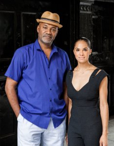 Nelson George and Misty Copeland Credit Alex Welsh, The New York Times