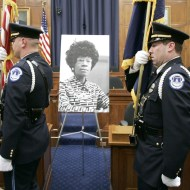 Former U.S. Congresswoman Shirley Chisholm Photo by Mark Wilson/Getty Images