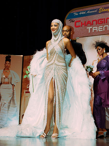 Ebony Fashion Fair, Bob Mackie Wedding Gown, splendidhabitat.com